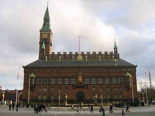 Copenhagen City Hall Building at Radhuspladsen
