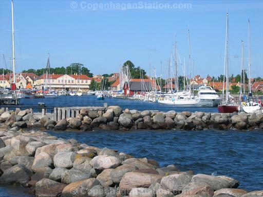 Harbour of Dragor, South of Copenhagen, Denmark