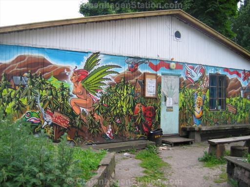 Wall Painting in Christiania, Copenhagen